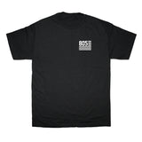 805 Flag Tee In Black With White - 805 CLOTHING