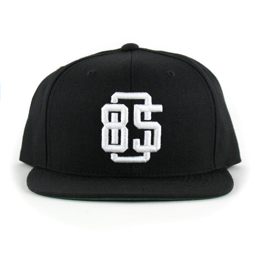 805 Game Breaker Hat In Black With White - 805 CLOTHING