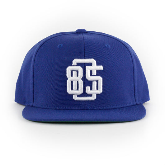 805 Game Breaker Hat In Royal With White