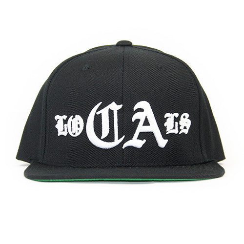 CA Locals Hat In Black With White - 805 CLOTHING