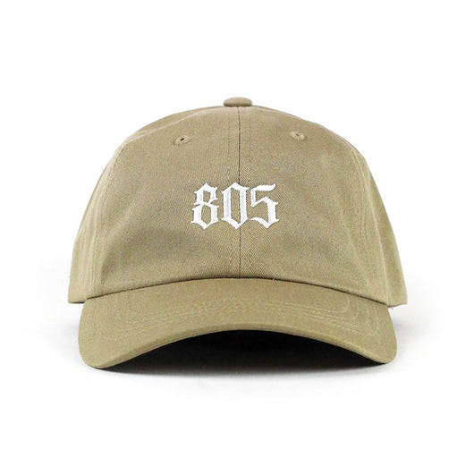 805 Logo Dad Hat In Khaki