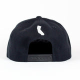 Ventura Hat In Black With White
