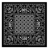805 Bandana In Black - 805 Clothing