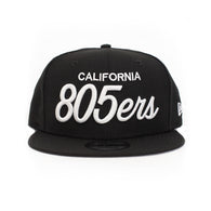 New Era 805ers Snapback Hat In Black