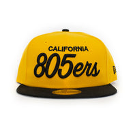 New Era 805ers Fitted Hat In Gold/Black