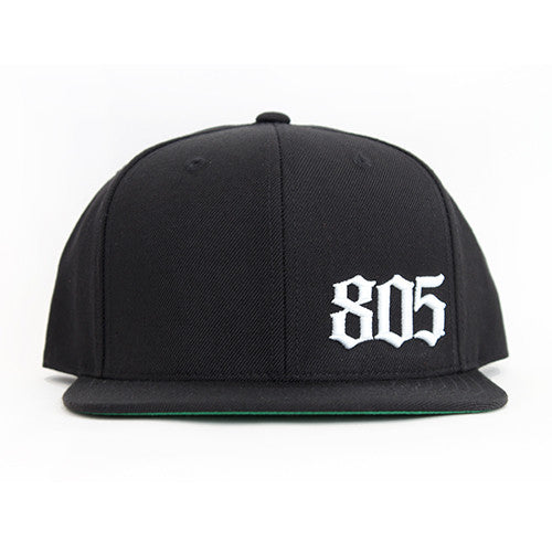 805 Hat In Black - 805 Clothing