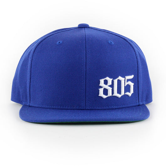 Small 805 Hat In Royal With White