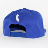 Small 805 Hat In Royal With White - 805 CLOTHING