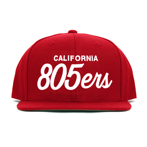 805ers Hat In Red - 805 CLOTHING