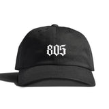 Black Rose By 805 Clothing Dad Hat