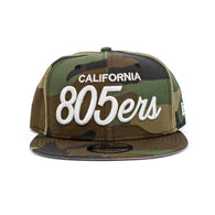 New Era 805ers Snapback Hat In Camo