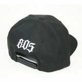 Lompoc Hat In Black With White