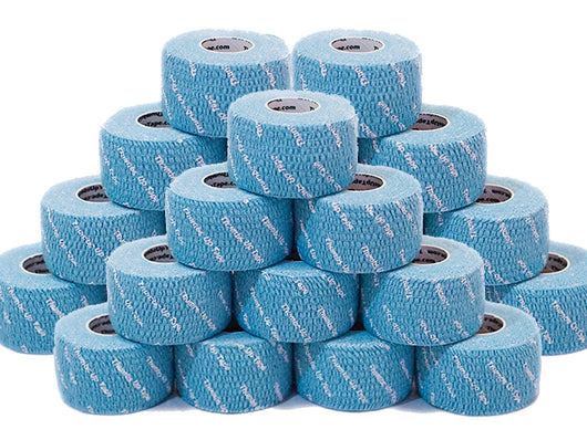 Thumbs Up Tape (32 Rolls - 1 Carton) Original BLUE/TEAL - Wholesale Pricing - FREE PRIORITY SHIPPING in USA