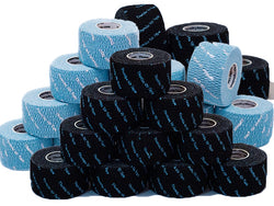 Thumbs Up Tape - 32 Rolls (16/16), 1 Carton - MIXED Color Blue and Black - Wholesale Pricing - FREE PRIORITY SHIPPING in USA