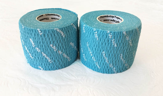 Thumbs Up Tape WIDE 2-Inch (TWO Rolls), Original BLUE, 2 inches x 7.5 yards