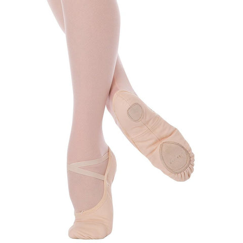 ANGELO LUZIO 246A - WENDY Womens Total Stretch Canvas Ballet Slipper