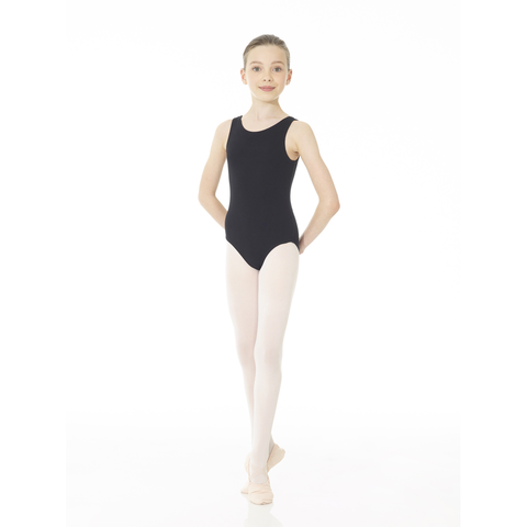 Body Wrappers Kids Basic Sleeveless Leotard