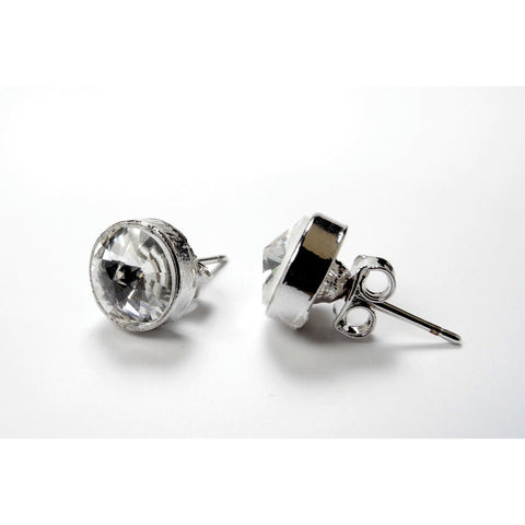 FH2 Crystal Stud Earrings