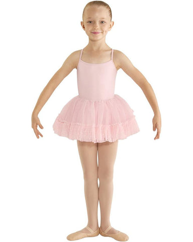 BLOCH- Heart Mesh Ruffle Ballet Tutu, Girls