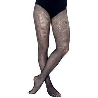 BODY WRAPPERS Full Footed Fishnet Tight- Adult