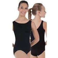 BODY WRAPPERS Adults Basic Sleeveless Leotard