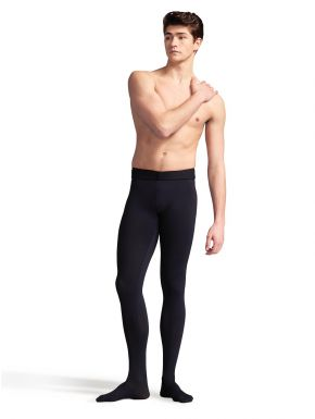 CAPEZIO Men's Tactel Footed Tight