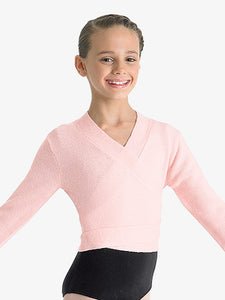 Bloch Cross Over Ballet Sweater Kids