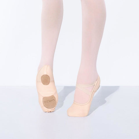 Capezio Adult Hanami Canvas Ballet Slipper