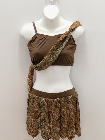 Jungle Print Two Piece- Ladies Small
