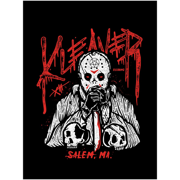 Crystal Lake Killer Canvas Poster