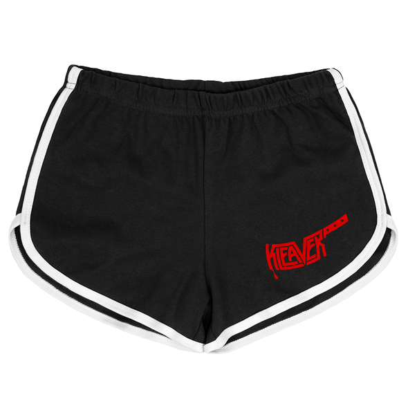 Hotter Than Hell Black Booty Shorts