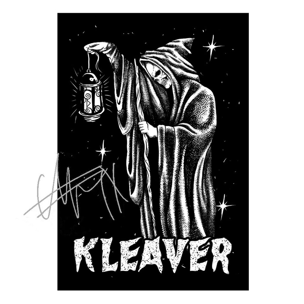 Hermit Reaper Poster - Signed by Spencer of INK.