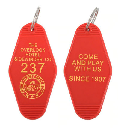 Overlook Hotel Room Key #237 Keychain