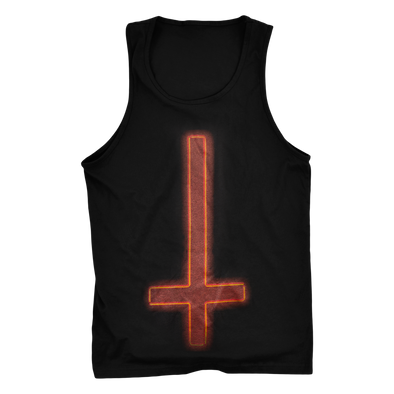 Upside Down Neon Cross Tank