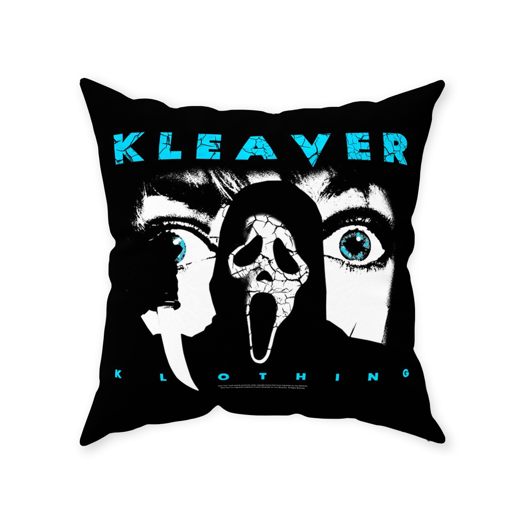 Scream Throw Pillow