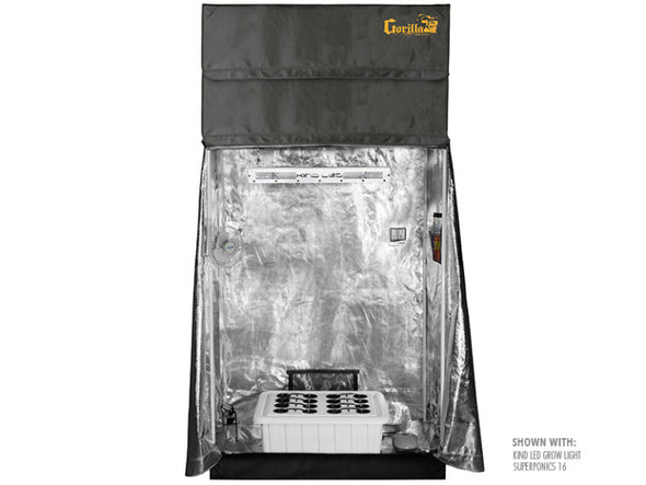 SuperRoom 2'x4' Smart Grow Tent Package - GrowTech Garden