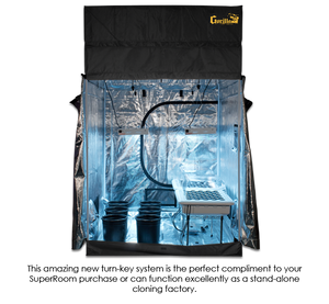 SuperCloset 5'x5' Super Clone Grow Room - GrowTech Garden