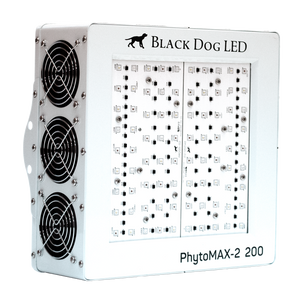 Black Dog LED PhytoMAX-2 200 Grow Light with Phyto-Genesis Spectrum® - GrowTech Garden