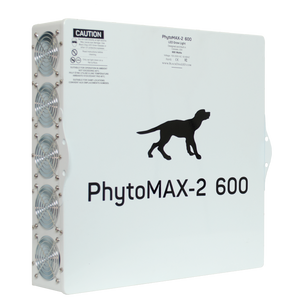 Black Dog LED PhytoMAX-2 600 Grow Light with Phyto-Genesis Spectrum® - GrowTech Garden