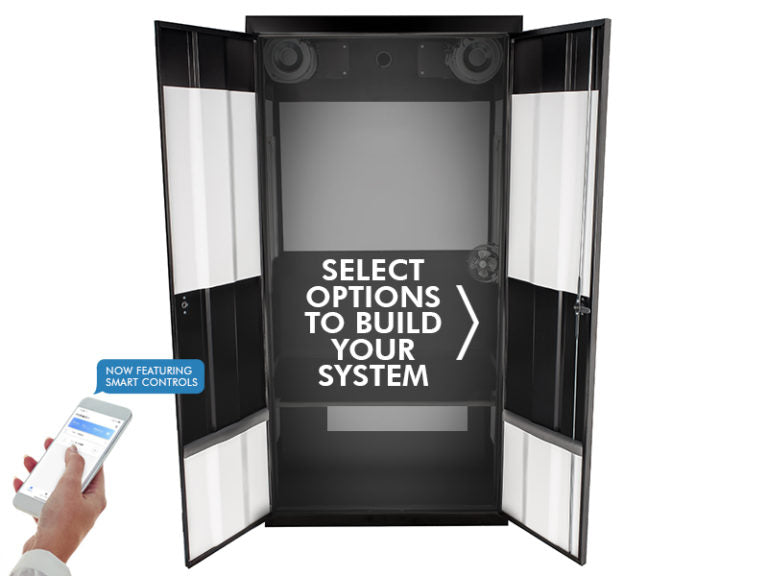 SuperCloset Deluxe Smart Grow Closet - GrowTech Garden