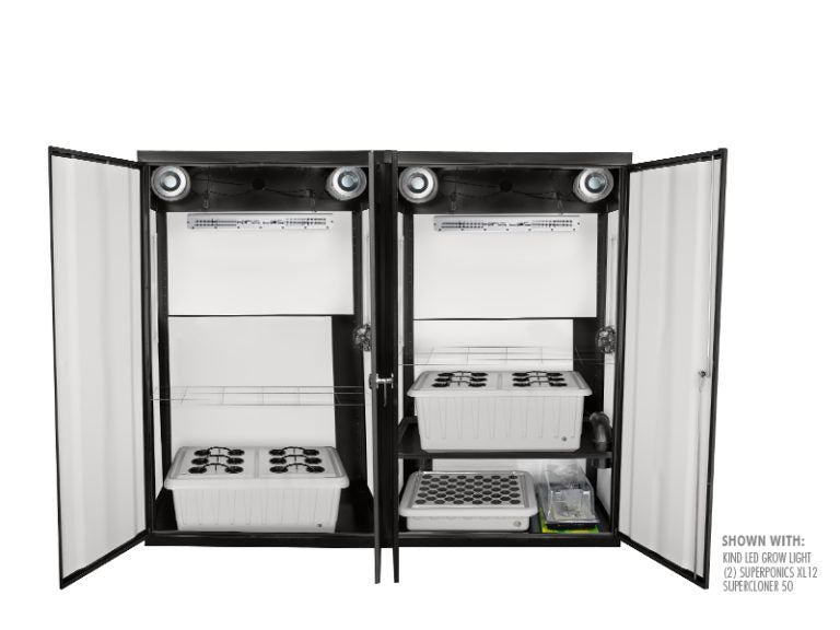 SuperCloset SuperTrinity Smart Grow Closet System - GrowTech Garden