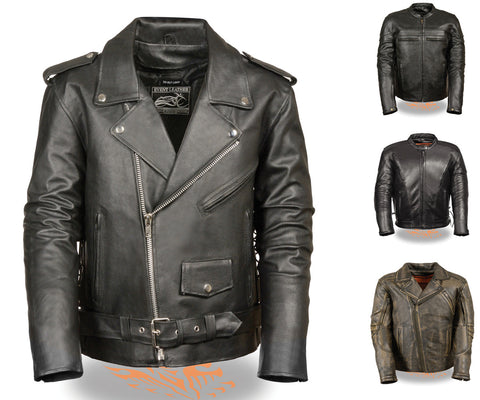 Men's Motorcycle Jacket's