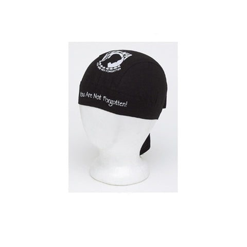 Cotton Skull Cap with POW / MIA