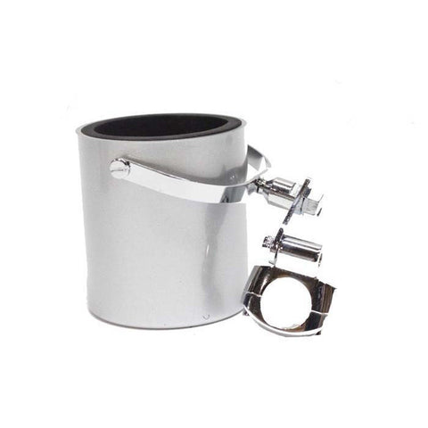 Silver Motorcycle Cup Holder