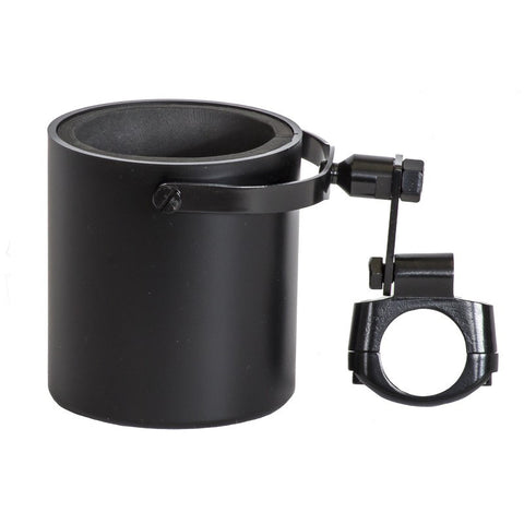 Motorcycle Cup Holder Flat Black