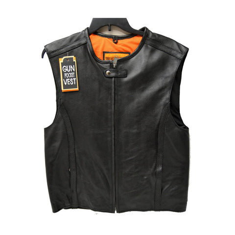 BIKERS VEST SWAT STYLE SPEEDSTER CLUB LEATHER VEST
