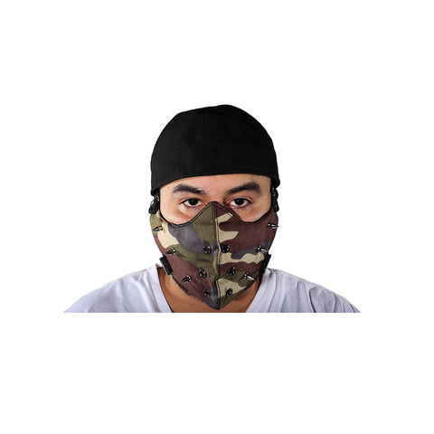 Camouflage Face Mask For Bikers
