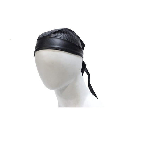 Biker Skull Cap with Perforation