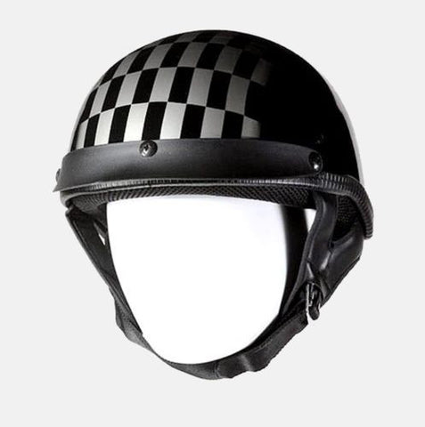 MOTORCYCLE MOTORBIKE 200 DOT APPROVED HELMET W/ RACE DAY COMFORTABLE BLACK NEW