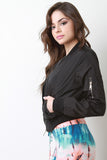 Windbreaker Bomber Jacket - Kaneli Nomad Boutique
